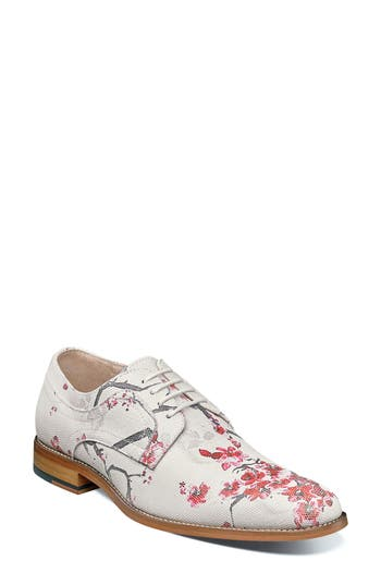 Stacy Adams Dandy Print Plain Toe Derby