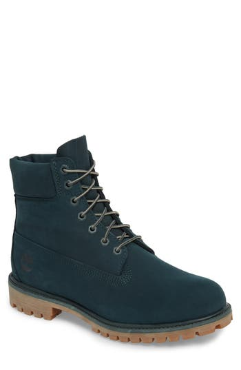 Men's Timberland 'Six Inch Classic Boots Series - Premium' Boot, Size 11 M - Green