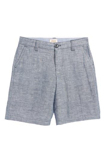 Boys Armani Junior Chambray Shorts