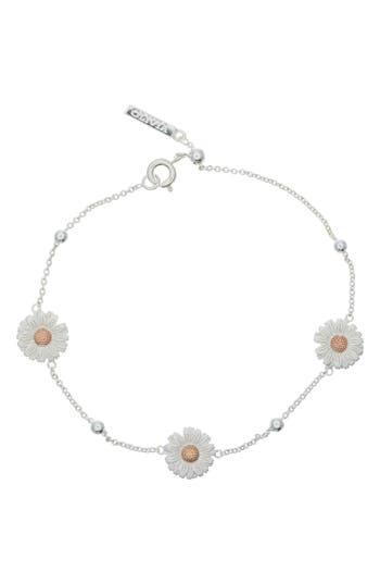 Women's Olivia Burton 3D Daisy Ball Chain Bracelet
