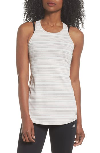 New Balance Intensity Tank, Ivory