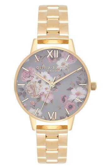 Women's Olivia Burton Winter Garden Bracelet Watch, 30Mm