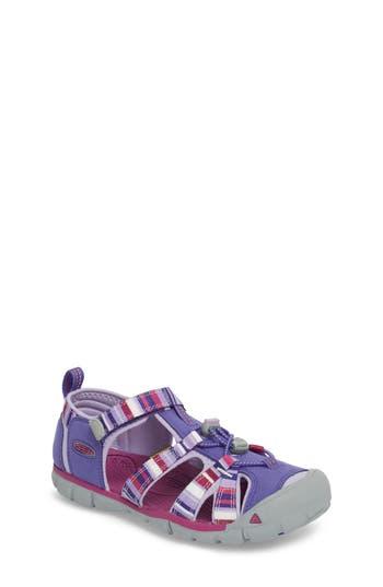Kid's Keen 'Seacamp Ii' Water Friendly Sandal, Size 4 M - Purple