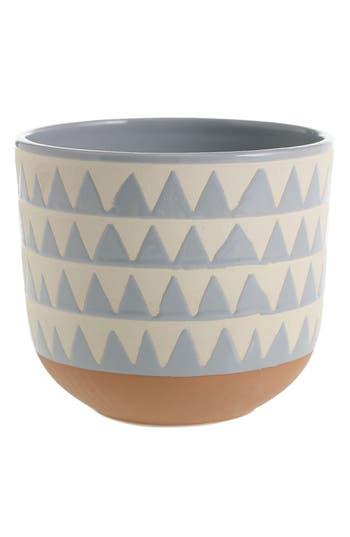 accent decor accent decor sully ceramic pot size one size blue