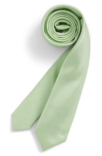 Boys Nordstrom Natte Weave Silk Tie