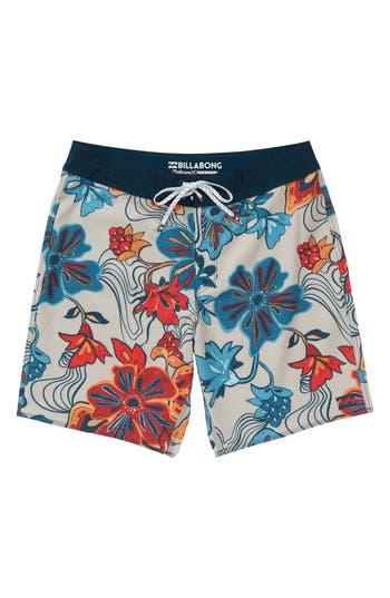 Boys Billabong Sundays X Board Shorts Size 28  Grey