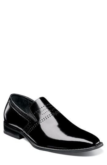 Stacy Adams Saunders Perforated Venetian Loafer