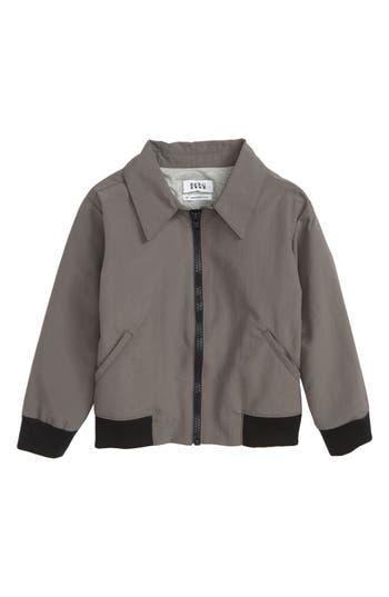 Boys Beru Riles Jacket Size 56  Grey