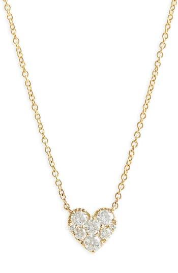 Bony Levy Heart Diamond Pendant Necklace