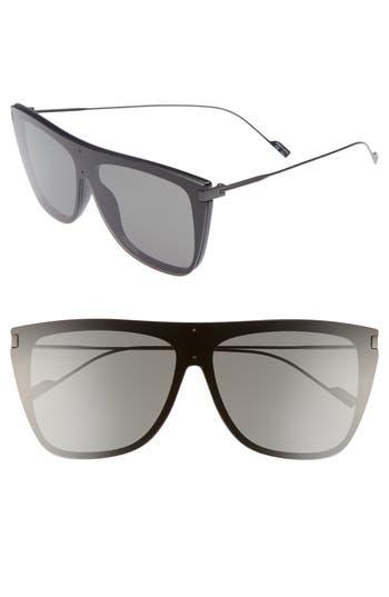 Saint Laurent SL 1 T 59mm Flat Top Sunglasses