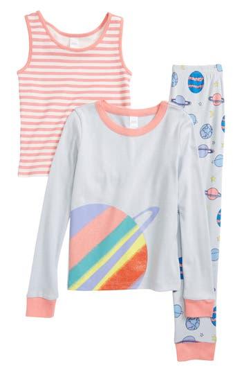 Girls Tucker  Tate Fitted ThreePiece Pajamas