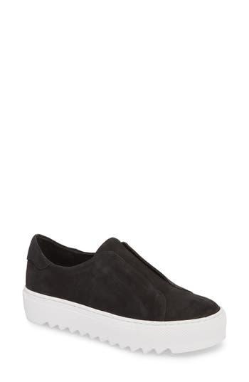 Jslides Spazo Slip-On Platform Sneaker, Black