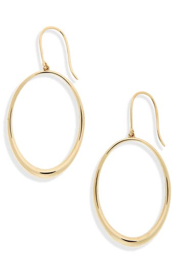 Bony Levy Oval Hoop Earrings