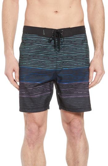Hurley Trailblaze Board Shorts, Black