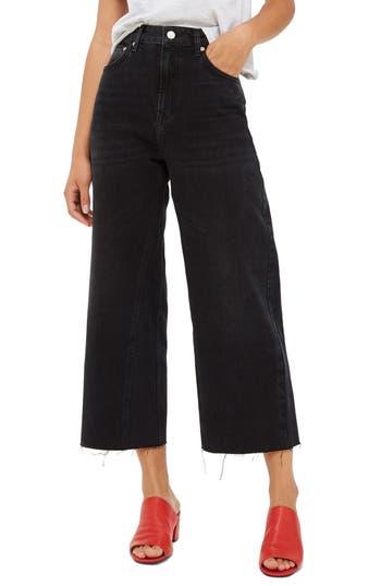 Topshop Wide Leg Crop Jeans