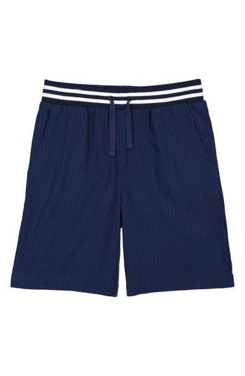 Boys Andy  Evan Seersucker Jogger Shorts
