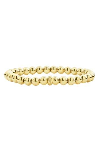 LAGOS Caviar Gold Ball Stretch Bracelet