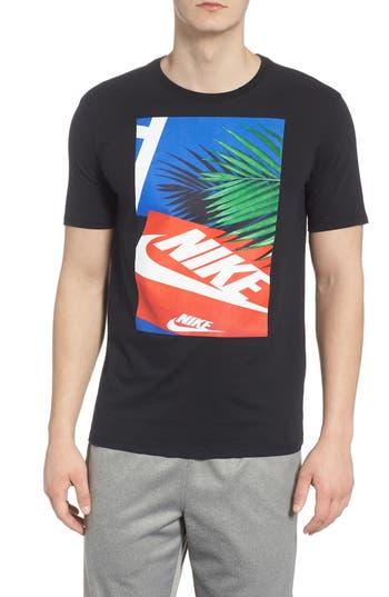 Nike Sportswear Graphic T-Shirt, Black