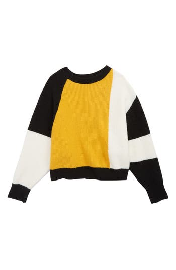 Girls Treasure  Bond Colorblock Sweater