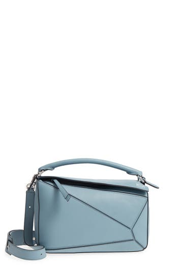 LOEWE MEDIUM PUZZLE BAG - BLUE