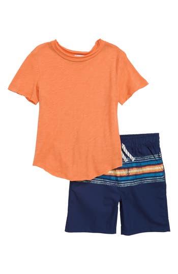 Boys Splendid TShirt  Stripe Shorts Set