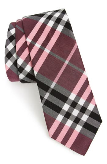 Burberry Manston Check Silk Blend Tie
