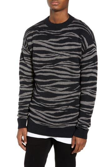 The Rail Tiger Stripe Sweater