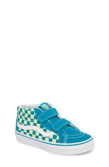 Boys Vans Sk8Mid Reissue V Sneaker Size 4 M  Blue