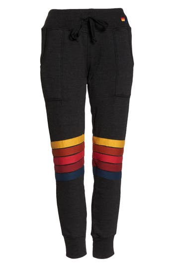 Moto Stripe Sweatpants
