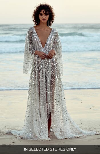CHOSEN by One Day Toby Custom Embellished High/Low Gown