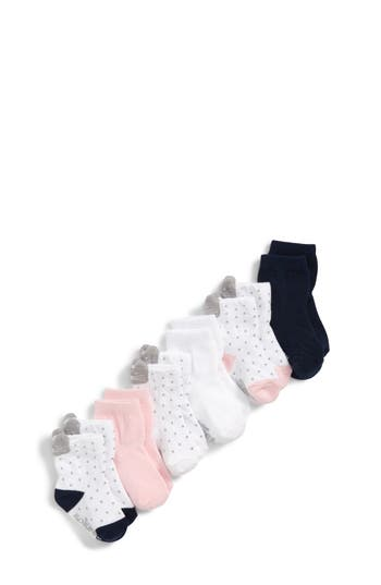 Girls Robeez Sweet Kitty 6Pack Ankle Socks