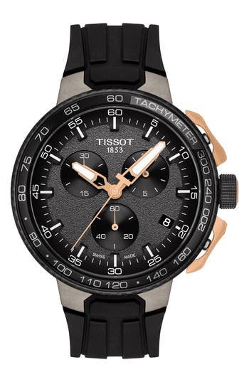 Tissot T-Race Cycling Chronograph Watch, 44mm