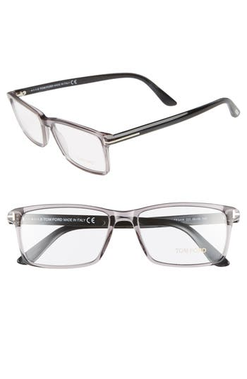 Tom Ford 56mm Rectangle Optical Glasses