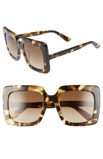 DIFF Sasha 53mm Polarized Sunglasses