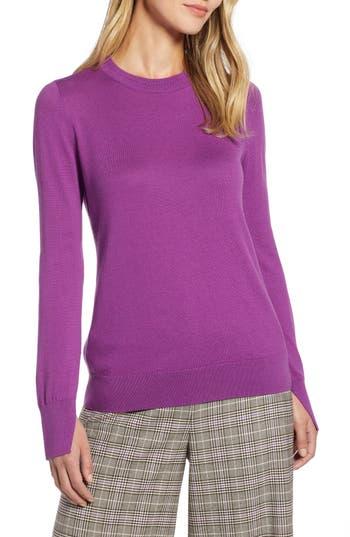 Halogen® Slit Sleeve Sweater