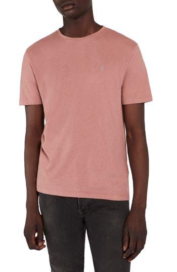 Men's Allsaints Brace Tonic Slim Fit Crewneck T-Shirt, Size Small - Red