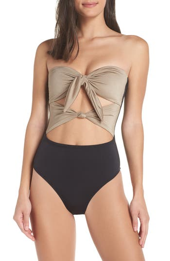 Leith Glam Nights One-Piece Swimsuit