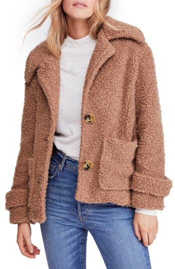 Free People So Soft Peacoat