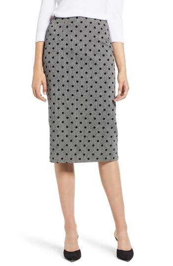 Halogen® Dot Pencil Skirt