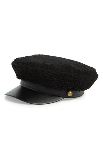 Trouvé Fleece Cabbie Cap