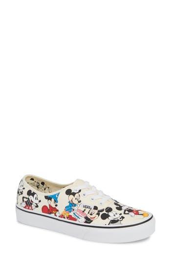 Vans x Disney UA Authentic Mickey Mouse Sneaker