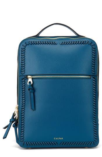 Calpak Kaya Faux Leather 15-Inch Laptop Backpack