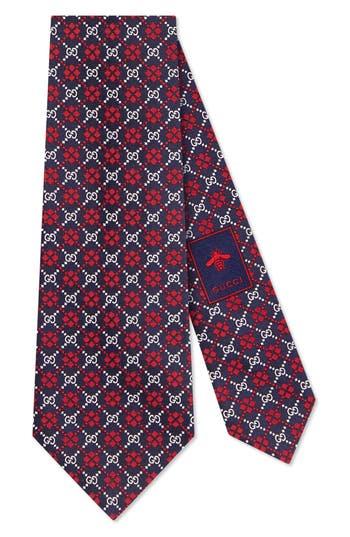 Gucci Diamond GG Silk Tie
