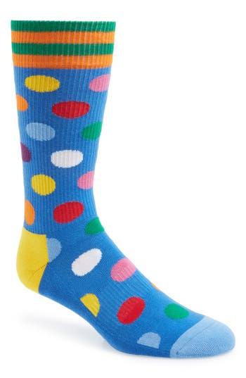 Happy Socks Athletic Big Dot Socks
