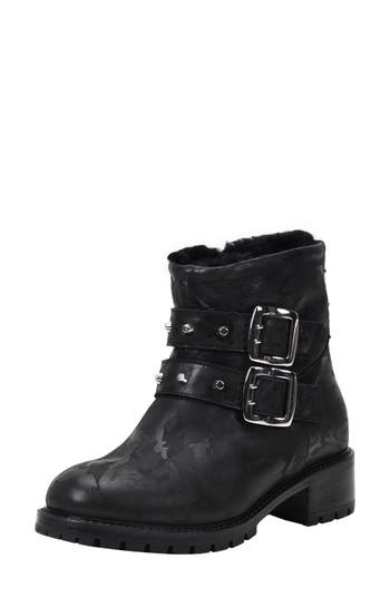 Ross & Snow Stefana SP Genuine Shearling Lined Waterproof Bootie (Women)