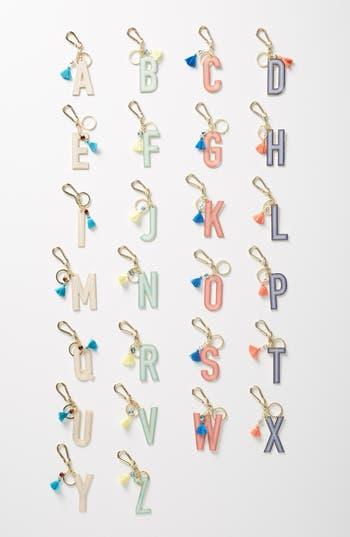 Anthropologie Juniper Monogram Key Chain