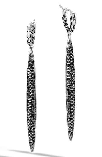 John Hardy Classic Chain Gemstone Drop Earrings