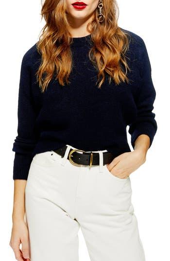 Topshop Raglan Sleeve Sweater