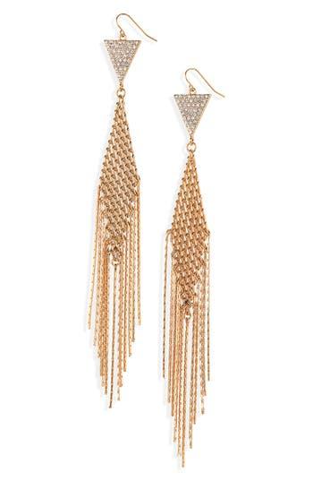 BP. Mesh Tassel Earrings