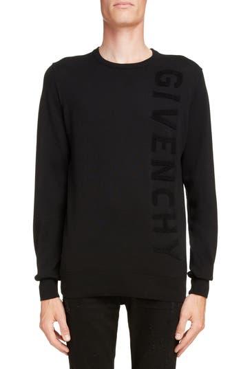 Givenchy Tonal Vertical Logo Sweater